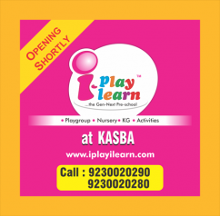 I Play I Learn Preschool, OPENING SHORTLY in Kasba