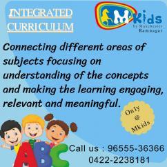 Kindergarten in Coimbatore, nursery school in Coimbatore, Montessori school in C