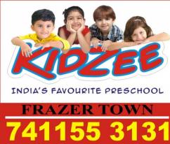 Kidzee Frazer Town   kindergarten Admission open Now