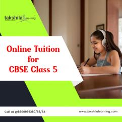 Live / Online Tuition for Class 5th - CBSE Class 5 Online Classes