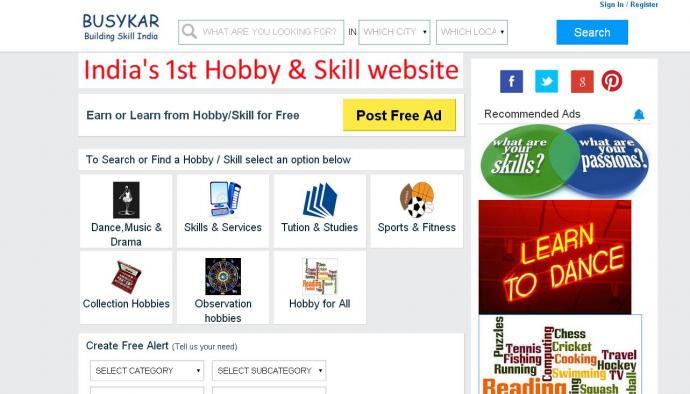 Hobby Classes in GREATER NOIDA  Listing website WWW.BUSYKAR.COM