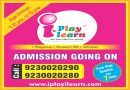 Hurry Admission Going On For I Play I Learn Preschool