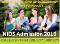 ADMISSION OPEN SCHOOL NIOS BOARD SESSION 2016-2017 (NIOS)NIOS