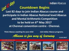 Indian Abacus National Level Competition May 6 2017..