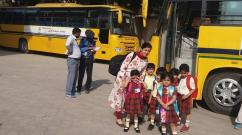 Mayoor School transport facilitates in Greater Noida