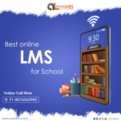 Online LMS for schools