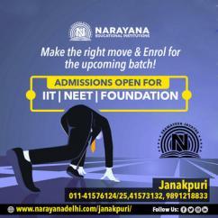 Narayana Schools in Janakpuri