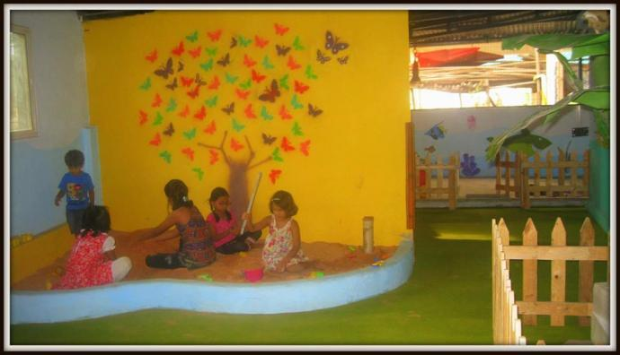 Play and Learn Day Care for kids in pune