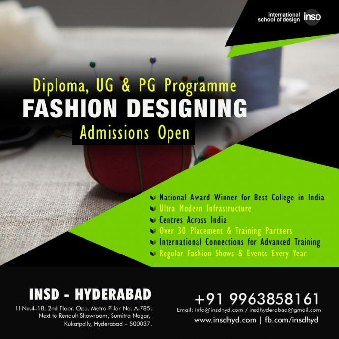 Fashion Design Institute In Hyderabad Hyderabad Zamroo