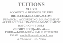 Study Circle - Tuitions Xi & Xii Accounts & Business Studies Bba,b.com,bca,mba