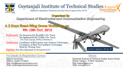 two days fixed wing drone workshop