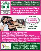 Learn While You Earn - Become an Experienced Fresher after 12th.