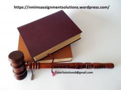 NMIMS assignment solutions