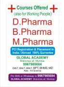 D.Pharma ,B.Pharma, M.Pharma ,PhD in Pharmacy PCI & UGC APPROVED UNIVERSITIES