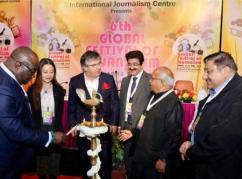 Grand Opening of 6th Global Festival of Journalism 2018