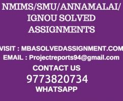 Latest Sem 1 and Sem 2 Nmims Solved assignmnets june 2018 GET SOLVED ASSIGNMENTS