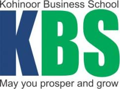 Admissions Open for PGDM (AICTE APPROVED) at Kohinoor Business School