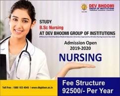 Bachelor of Science in Nursing (B.Sc. Nursing) Course in Dehradun