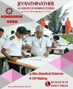 Admission Open for Marine Courses