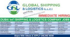 Engineering graduates logistics internship with high pay in dubai