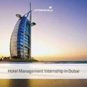 Entering Hospitality management industry  internship with high pay in dubai