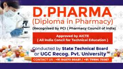 D.Pharma Admission guidance