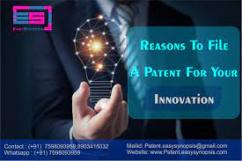 Patent filing support